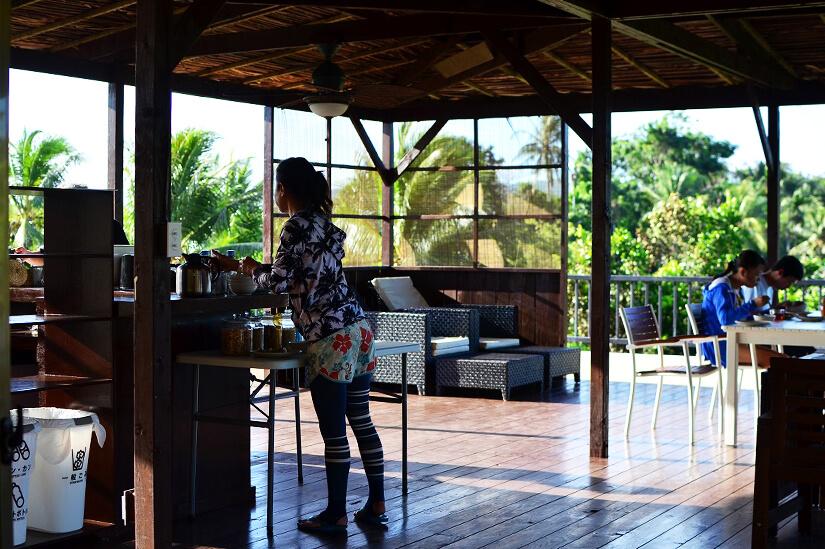 パラオのホテル、ガーデンパレスの朝食⑤