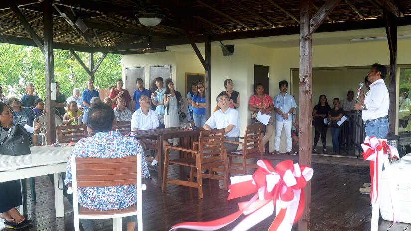 パラオ共和国大統領ご出席のオープニングパーティー