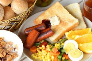 パラオガーデンパレスの朝食で食べられる種類