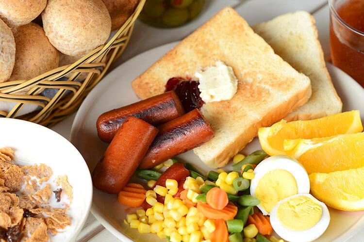 【朝食】組み合わせて楽しめる!品目が2倍になった新しいメニュー