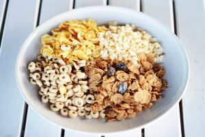 パラオガーデンパレスの朝食で食べられる4つのシリアル