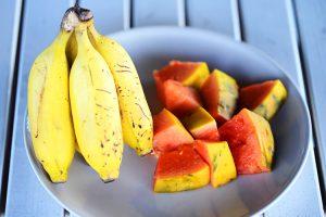 パラオガーデンパレスの朝食で食べられるフルーツ