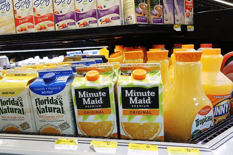 パラオWCTCのオレンジジュース