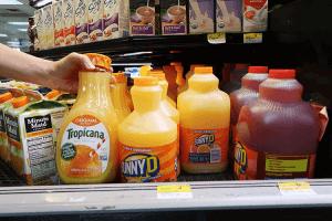 パラオWCTCのトロピカーナオレンジジュース