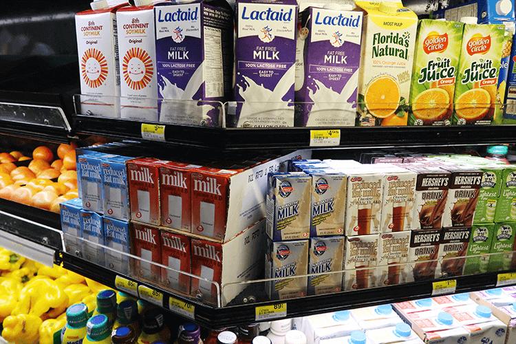 パラオWCTCの牛乳