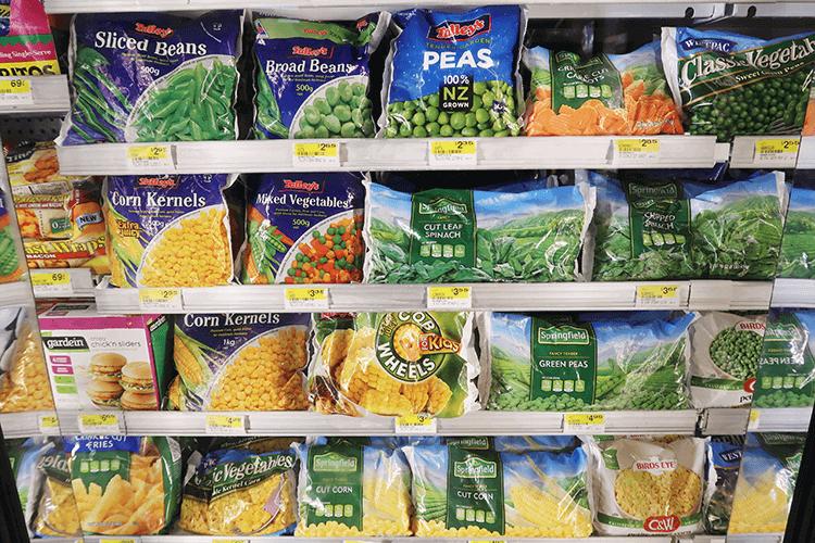 パラオWCTCの冷凍サラダ