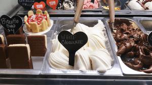パラオアマレーナジェラートショップのwhite chocolate