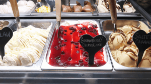 パラオアマレーナジェラートショップのstrawberry cheese cake