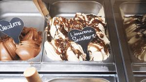 パラオアマレーナジェラートショップのL'amareana Snickers