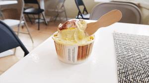 パラオアマレーナジェラートショップで食べるアイス