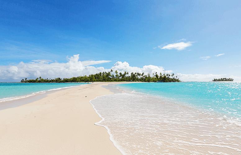 パラオのカヤンゲル島